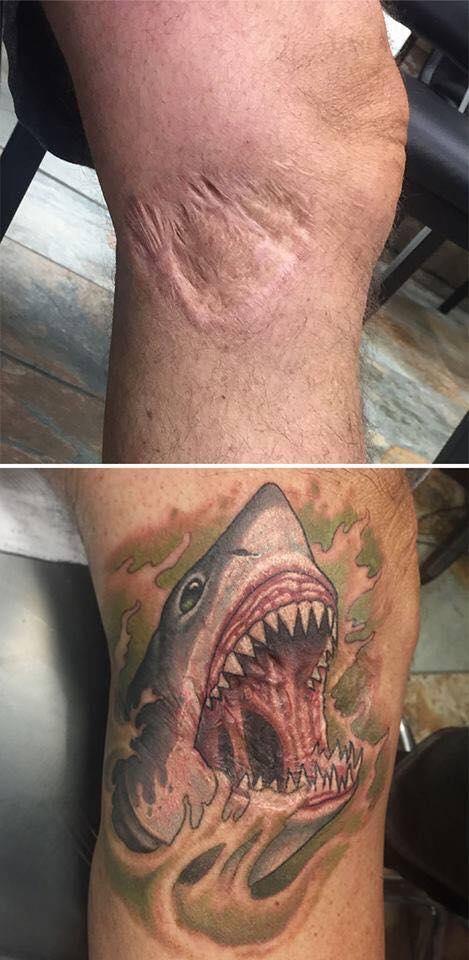 Niesamowite Tatuaże Które Zmieniły Blizny I Znamiona W