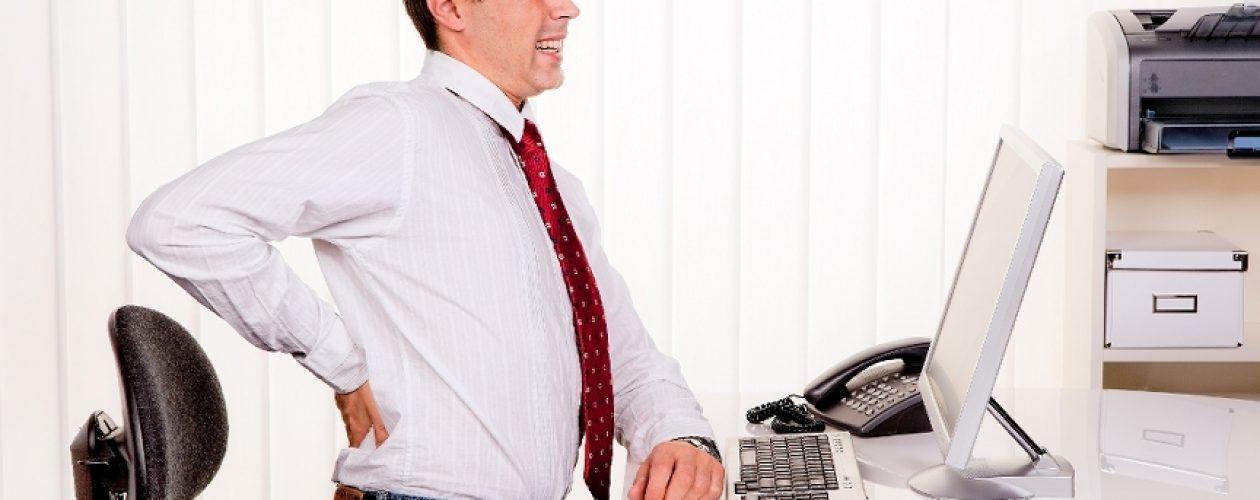 Choroby ludzi pracujących za biurkiem